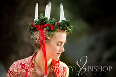 A Swedish Christmas inspired wedding...via Stacey Bishop photography