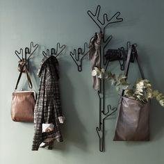 Klädhängare Branch Hanger, svart