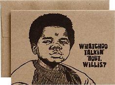 Watcha Talkin Bout Humor Card