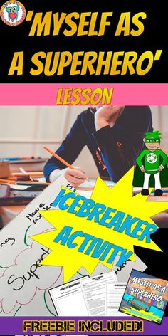 Free Icebreaker lesson activity for Back to Scholl School Icebreakers, Icebreaker Activities, Back To School Activities, Free Activities, Beginning Of The School Year, The New School, New School Year, Free Teaching Resources, School Resources