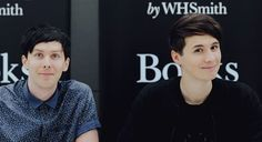 Dan and Phil ~ They are beautiful people