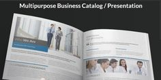 The brochure is an excelent way to show your business #image #corporative #branding