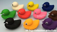 Playdough Ducks Surprise Toys Hello Kitty Paw Patrol Twozies Cookie Cutt...