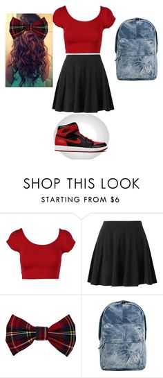 """Spirit Week: School Colors"" by yourfashionbabe ❤ liked on Polyvore featuring River Island and RVCA"