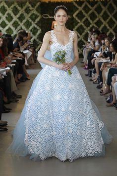 Oscar de la Renta Bridal 2013 Collection has wowed us. The