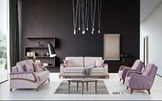 Çelmo Nike Koltuk Takımı Living Room Sofa Design, Outdoor Furniture Sets, Furniture Design, Nike, Chair, Table, Shower, Bathroom, Home Decor