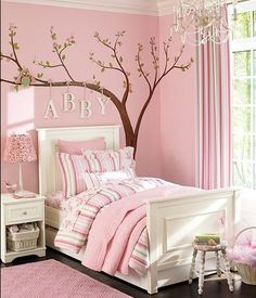 I'd love this room!! But in a different color.