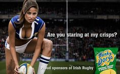Irish 'sexist' ad campaign generates global PR , See the controversial work. Visit UTalkMarketing for more Marketing News Irish Rugby, Men Are Men, Football Girls, Best Ads, Scantily Clad, Sporty Girls, Vintage Advertisements, Vintage Ads, Sports Women