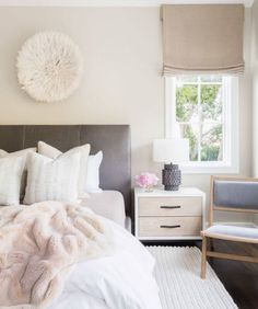 Style me pretty living - over the bed and blanket