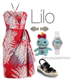 """Lilo"" by msfrancescaaloe on Polyvore featuring Prada, Disney, women's clothing, women's fashion, women, female, woman, misses, juniors and disney"