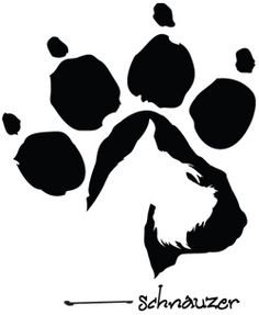 It would be neat to do Aly's silhouette inside her paw!... yeah. it's gonna happen.
