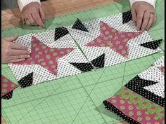 Folk Stars Quilt Pattern