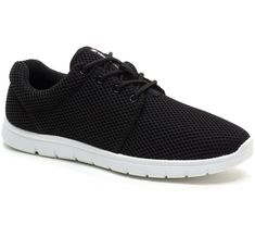 5edf026674 kilian Mesh Sneakers Beatheable Lightweight Fashion Trainers - Black -  CR12K5V0RUD. Men's Shoes ...
