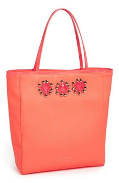 Ted Baker London Jeweled Shopper available at #Nordstrom