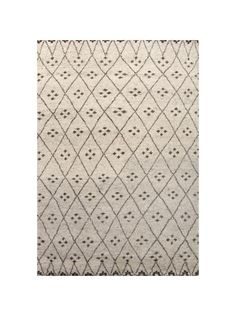 Luxurious to the touch and easy on the eye, our Allirea Rug is an updated version of an old Moroccan style rug. The neutral palette allows for the rest of your d?cor to do the talking, providing a gorgeous and soothing backdrop.