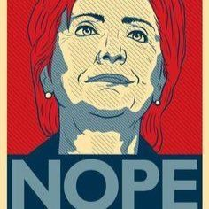 NEVER Hillary. Join us in pledging to NOT support corrupt Hillary Rodham Clinton in the general election #NeverHillary