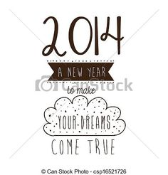 Vector - happy new year 2014 - stock illustration, royalty free illustrations, stock clip art icon, stock clipart icons, logo, line art, EPS picture, pictures, graphic, graphics, drawing, drawings, vector image, artwork, EPS vector art