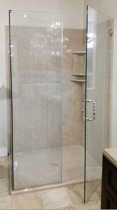 Shower Gallery Bathroom Shower Panels, Shower Doors, Acrylic Shower Walls, Bathroom Design Small, Bathroom Ideas, Open Showers, Shower Tile Designs, Stone Panels, Door Design Interior