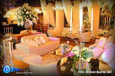 um Casamento Clássico Espetacular hoje no Blog! Vem ver este super projeto de decoração da Flor e Cia, com iluminação In-Color. Impecável, confira: