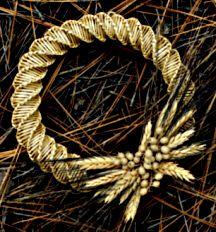 Wheat Weaving Photos