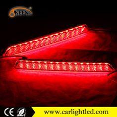 KEEN High Power 5W 12V LED Rear Lights For Mazda 6 LED Tail Light Lamp Mazda 2/3/8 Bumper Reflectors Warning Brake Red LED