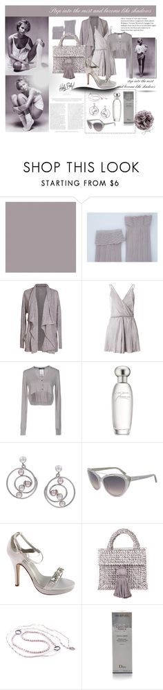 """""""Step into the mist and become like shadows"""" by gerdav ❤ liked on Polyvore featuring SANDERSON, Velvet by Graham & Spencer, Miss Selfridge, LIU•JO, Estée Lauder, Kabella Jewelry, Tom Ford, Dyeables, 711 and Christian Dior"""
