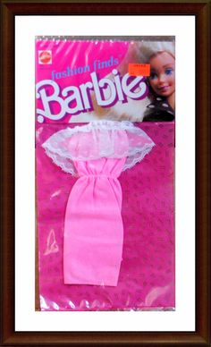 Vintage Barbie Clothes - 1980's Fashion Finds - NRFP - In Package - Lot 8 | eBay