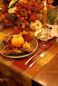 Greetings everyone, Autumnal Greetings that is!    It is surely becoming fall here in the Midwest and I'd like to share a tablescape that re...