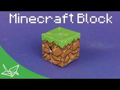 Minecraft Block Origami - Tavin's Origami