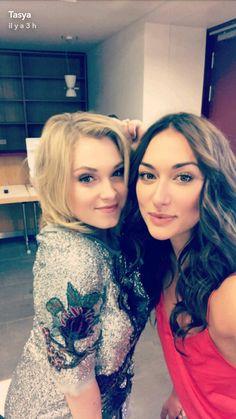 Eliza Taylor and Tasya
