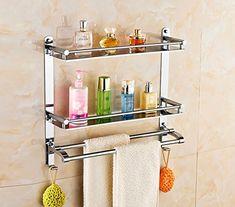 Sphere Shelves Stainless steel bathroom towel rack bathroom towel rack shelving wall long:50CM Material:stainless steel  Scope: Kitchen, bathroom, etc  (Barcode EAN = 3874374234081). http://www.comparestoreprices.co.uk/december-2016-3/sphere-shelves-stainless-steel-bathroom-towel-rack-bathroom-towel-rack-shelving-wall.asp