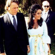 Elizabeth Taylor and Richard Burton = Couple Outfit Goals