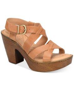 Born Greccia Wedge Sandals