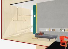 Studio Toogood Norfolk residence rendering