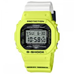 CASIO G-Shock DW-5600TGA-9 Orologio Digitale Special Color Casio G-shock, Casio Watch, Casio G Shock Watches, Stylish Watches, Amazing Watches, Accent Colors, Digital Watch, Neon Yellow, Sport