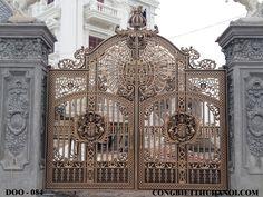 Mẫu cổng nhôm đúc D0084