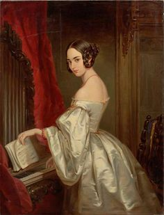 """Maria Kochubey Baryatinskaya (1818-1843)"", 1840s, by Christina Robertson (Scottish, 1796-1854)"
