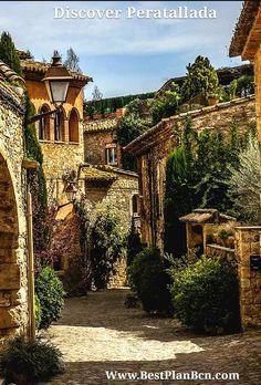 Discover Pals , Peratallada and Castell de Púbol. #costabrava