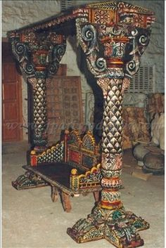 Indian Hand Painted Swing - Buy Furniture,indian Furniture,swing Product On…