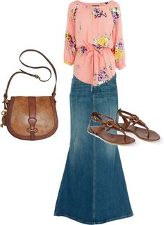 """""""Modesty equals class :)"""" by nadiahernandez ❤ liked on Polyvore"""
