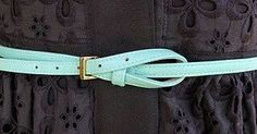 How to tie a belt that's too big