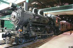 Steam locomotive at Railroad Museum of Pennsylvania. Train Car, Train Tracks, Train Info, Long Island Railroad, Train Museum, Old Steam Train, Abandoned Train, Pennsylvania Railroad, Train Engines