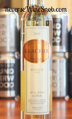 Exploring a sweet wine from Austria, the Welschriesling variety and Noble Rot (Botrytis).