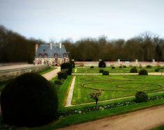 Old french garden