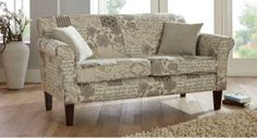 Rose Large Sofa in beautiful patchwork fabric #sofa #interior