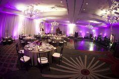 Purple Wedding at the Nines