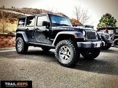 """Another new Jeep with another JKS 3.5"""" JKontrol and 35"""" Nitto Trail Grapplers"""