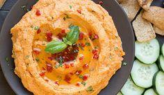 Arabský hummus se sušenými rajčaty