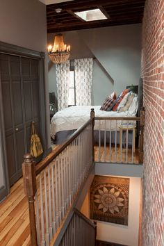 I think this light fixture pairs nicely with a modern rustic eclectic mix - bedroom by Jason Snyder