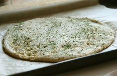Lactose free/gluten free/yeast free pizza crust. No cauliflower!